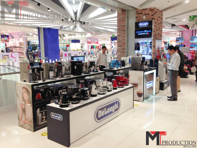 Dịch vụ thiết kế thi công nội thất siêu thị chuyên nghiệp