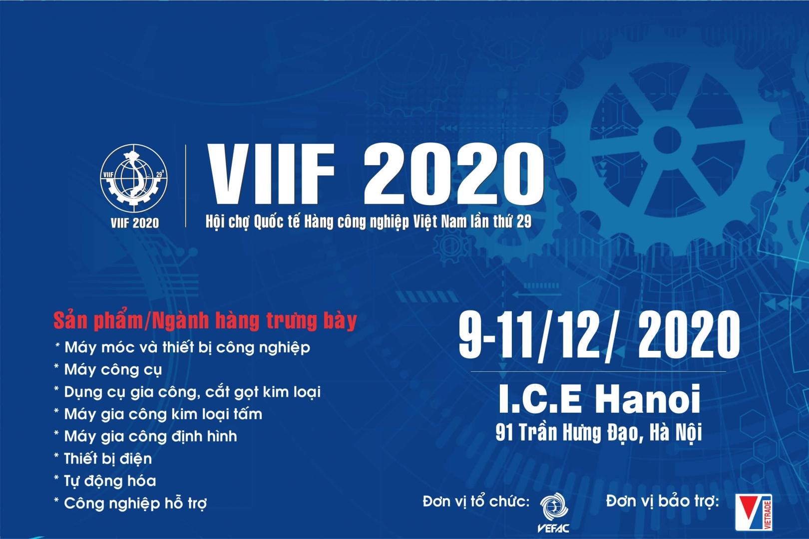 VIETNAM INTERNATIONAL INDUCTRIAL FAIR 2020