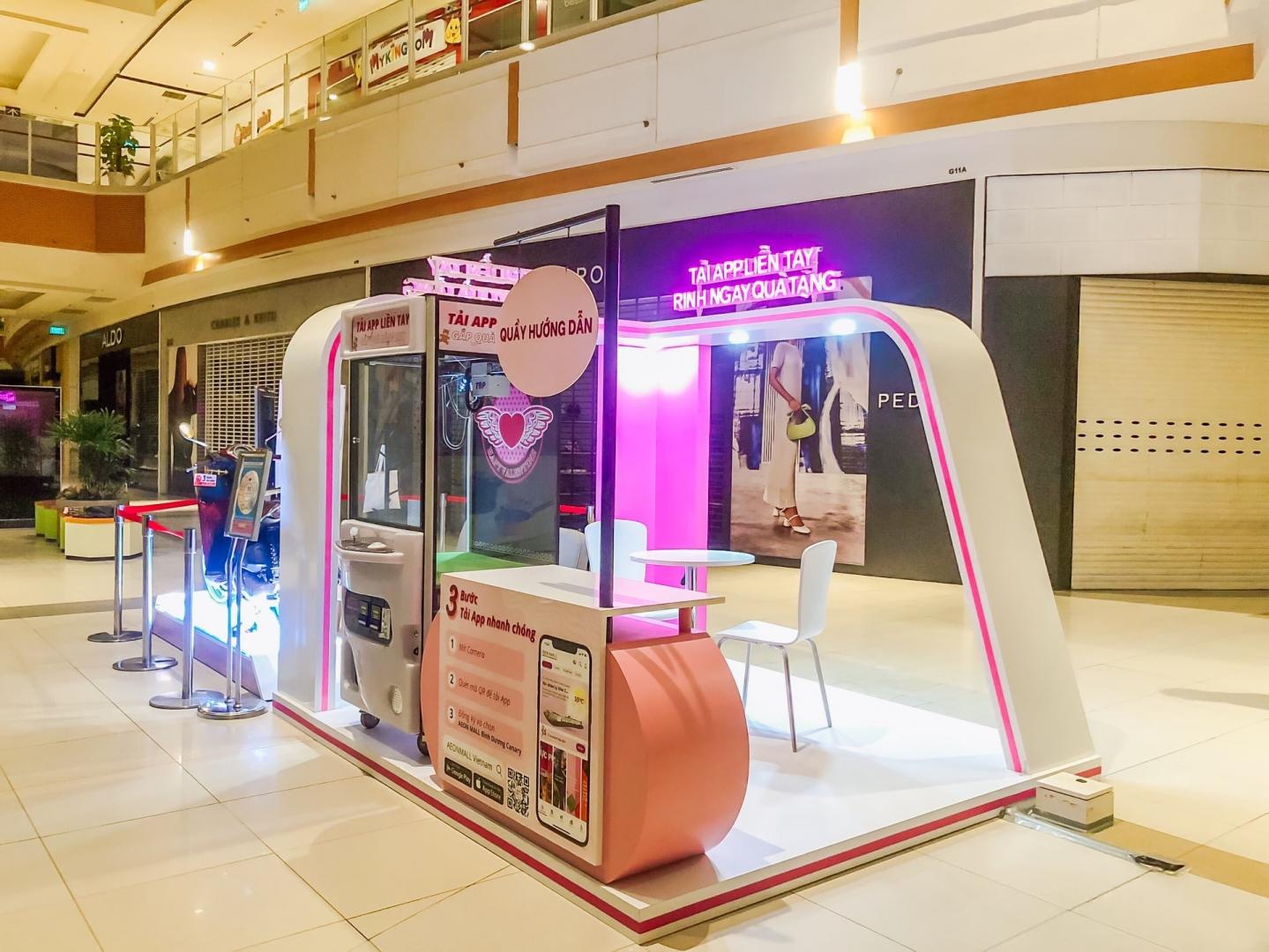 MT-PRODUCTION Ra Mắt Activation Booth Tại Aeon Bình Dương