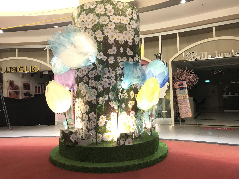 Mùa Xuân Hoa Nở Tại Aeon Bình Tân 2021