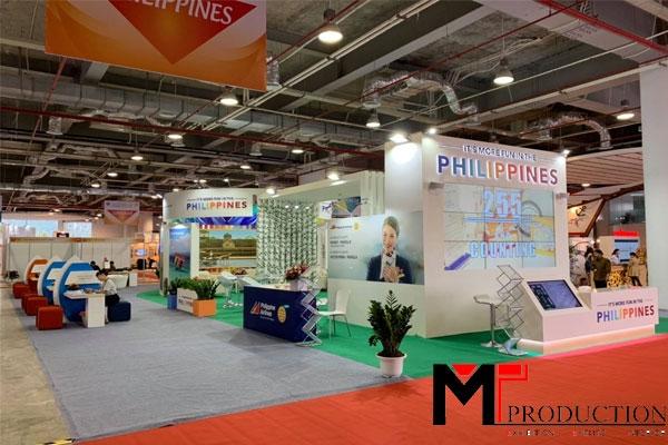 Thiết kế - Thi công gian hàng hội chợ chuyên nghiệptại MT-PRODUCTIO