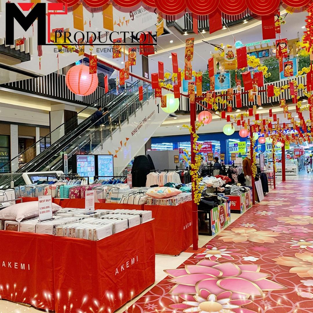 Trang Trí Tết Tại Aeon Mall Bình Tân – MT-PRODUCTION