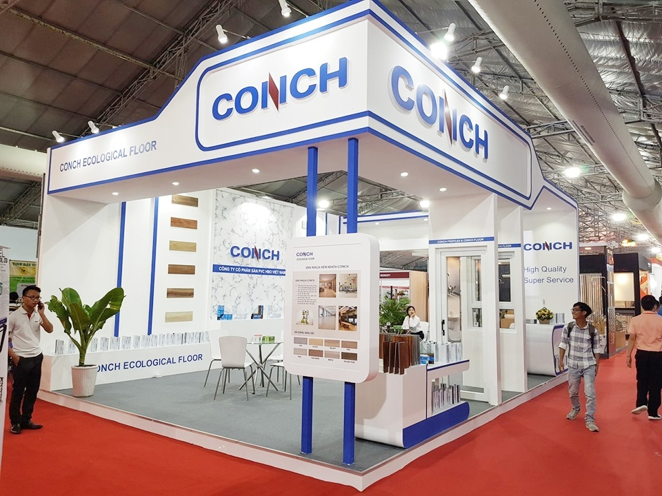 CONCH booth - designed and constructed by MT-Production