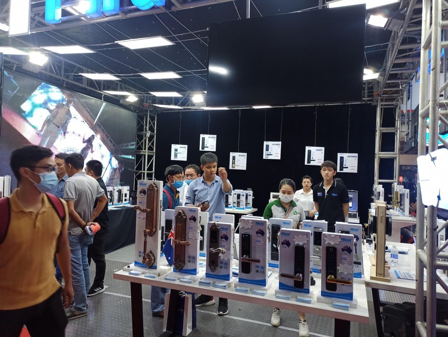 Triển lãm Vietbuild năm 2021 tổ chức vào cổng tự do tại Nhà thi đấu Phú Thọ - TPHCM