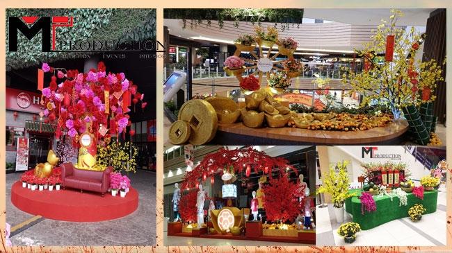 Xu Hướng Trang Trí Lễ Hội Tại Trung Tâm Thương Mại Việt Nam Trong Những NămGần Đây