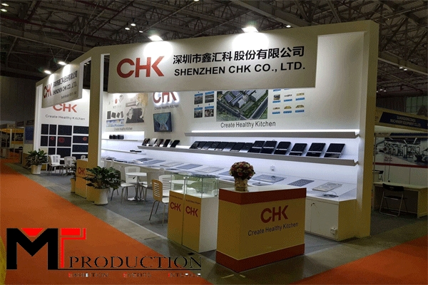 20 + Exhibition booth design template