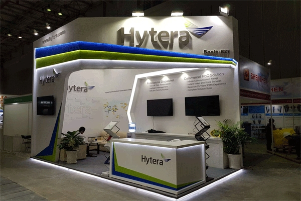 Company Design - Construction of professional exhibition booths in Ho Chi Minh City