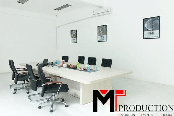 Dịch vụ thi công nội thất siêu thị, showroom chuyên nghiệp tại MT-PRODUCTION
