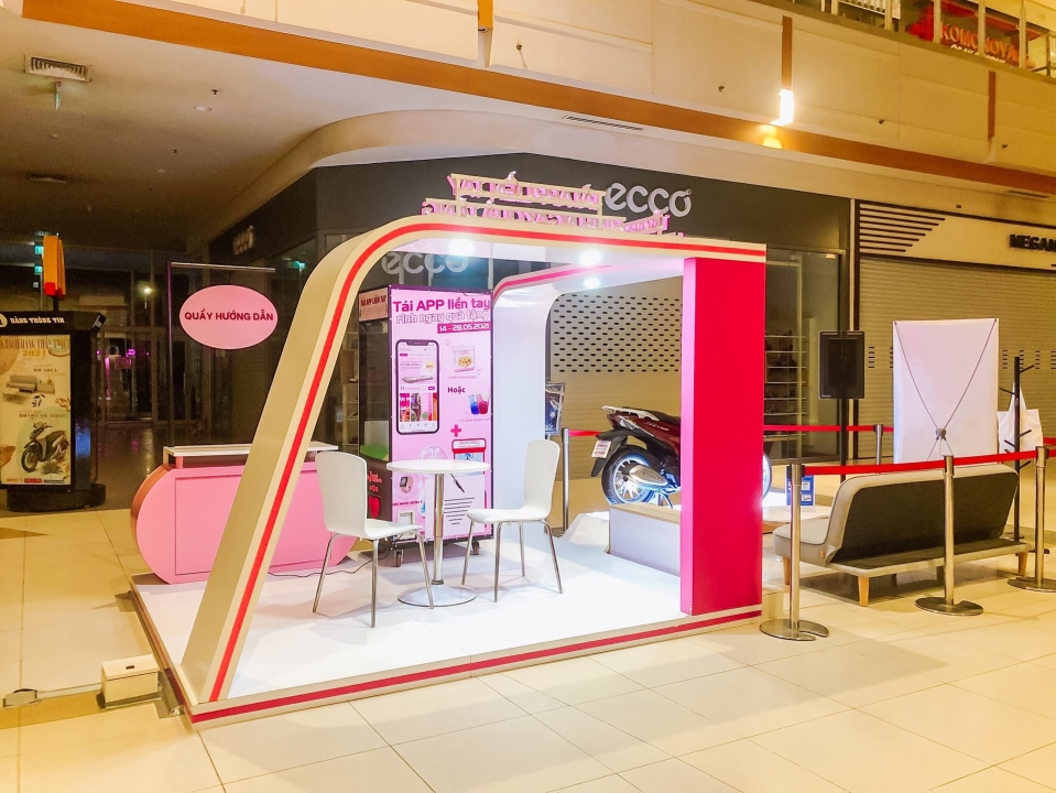MT-PRODUCTION Launched Activation Booth At Aeon Binh Duong