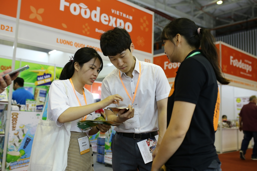 Gathering 600 Exhibition Booths at Vietnam Foodtech 2021