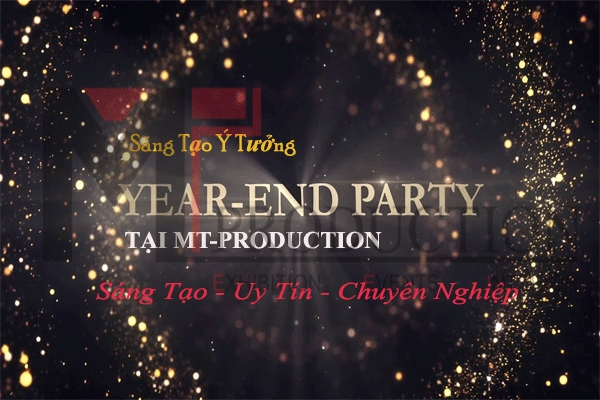 Year End Party Event With Impressive Themes