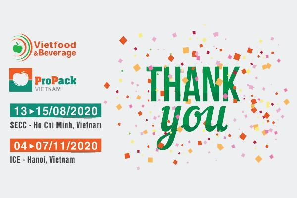 Vietfood & Beverage – Propack 2020