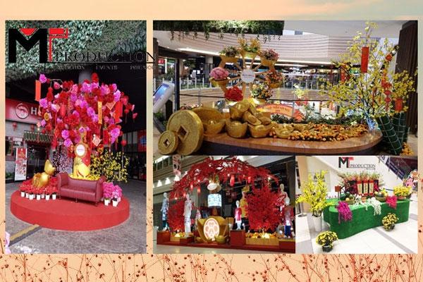 Xu Hướng Trang Trí Lễ Hội Tại Trung Tâm Thương Mại Việt Nam