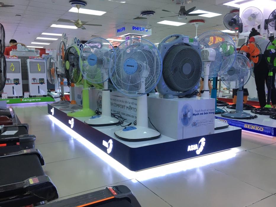 Kệ trưng bày sản phẩm Asia